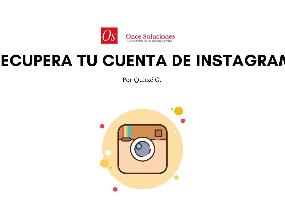 Consejos para recuperar una cuenta de instagram hackeada